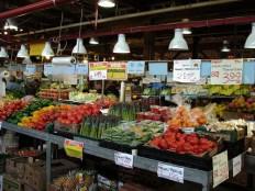 granville island market vegetables by lorelle vanfossen