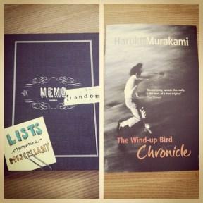 books reading haruki murakami lists memo