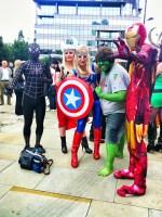 world expo comicon, comicon, the avengers, cosplay, manchester comicon,