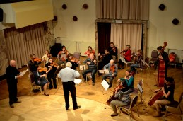 Orkester...