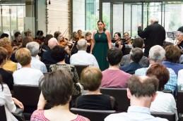 Še pogled iz publike.