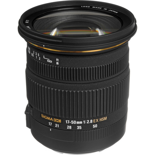 Sigma 17-50mm f/2.8 EX DC OS HSM Lens for Canon EF