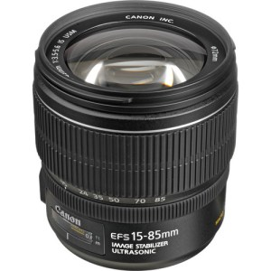 Canon EF-S 15-85mm f/3.5-5.6 IS USM Lens (UK USED)