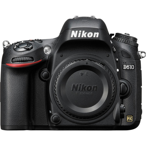 Nikon D610 DSLR Camera Body Only with 2 Batteries & Grip (USA USED)