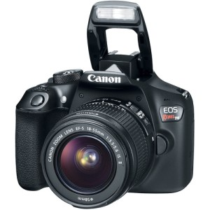 Canon EOS Rebel T5/1200D DSLR Camera with 18-55mm Lens