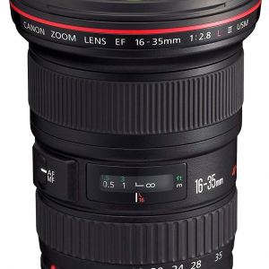 Canon EF 16-35mm f/2.8L ll USM Zoom Lens for Canon EF Cameras (UK USED)