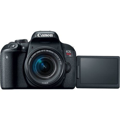 Canon EOS Rebel T7i/800D DSLR Camera with 18-55mm Lens (UK USED)
