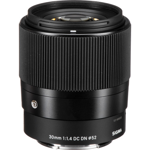 Sigma 30mm f/1.4 DC DN Contemporary Lens for Sony E