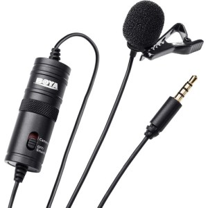 Affordable Boya wireless lavalier microphone