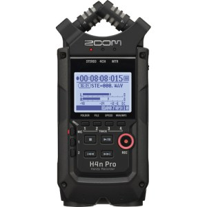 Zoom H4n Pro 4Track Handy Recorder