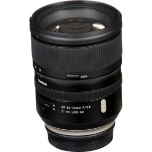 Tamron SP 24-70mm Di VC USD G2 Lens for Canon EF