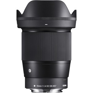 Sigma 16mm f/1.4 DC DN Lens for Canon EF-M