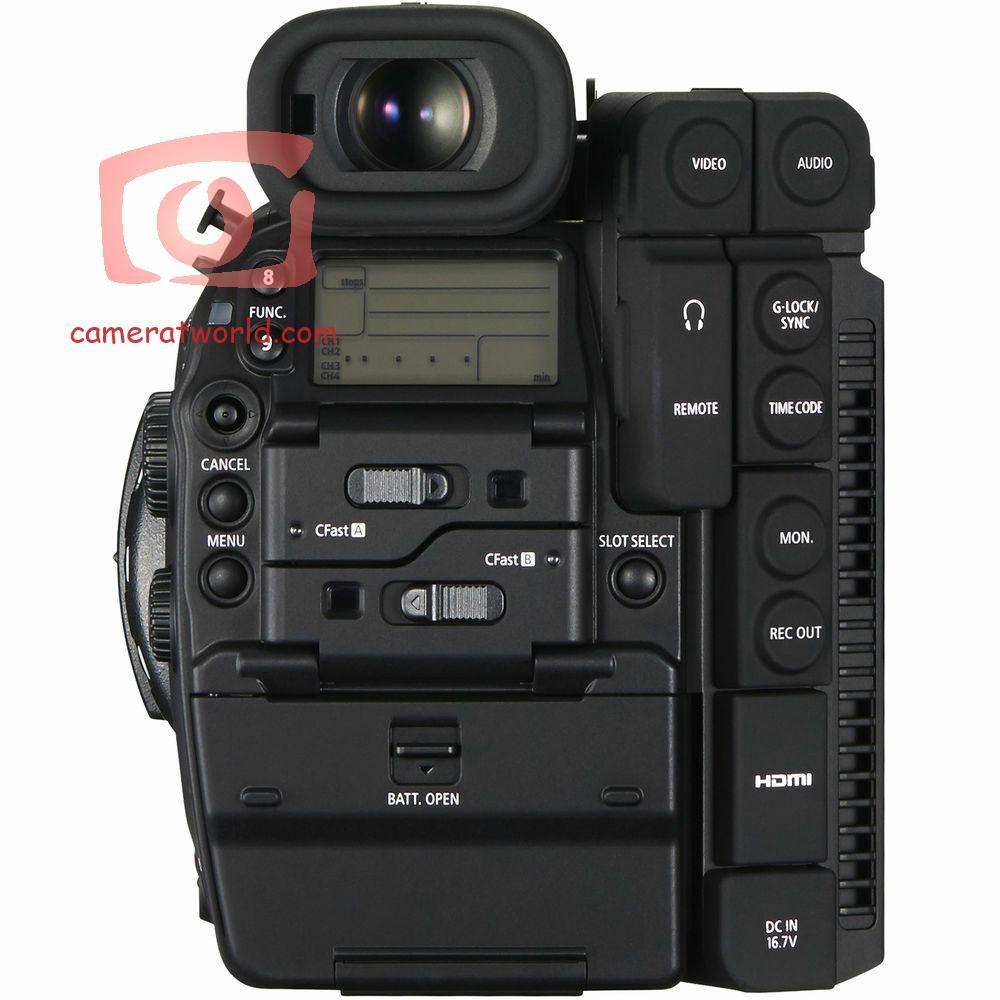 كاميرا الفيديو كانون EOS C300