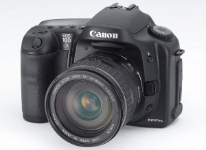 Canon EOS-10D Manual User Guide.
