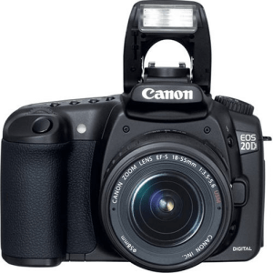 Canon EOS-20D Manual Use Guide..