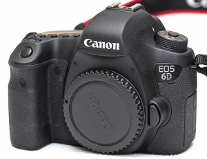 Canon EOS-6D Manual.