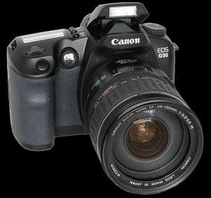 Canon EOS-D30 Manual User Guide.
