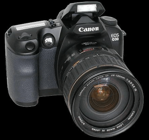 Canon EOS-D30 Manual User Guide.