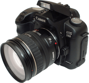 Canon EOS-D60 Manual User Guide.