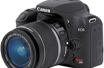 CANON EOS Rebel XS Manual, a Guidance to Canon Clean Shoot Camera 2