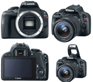 canon eos rebel sl1 manual guidance to canon small camera with lighter weight