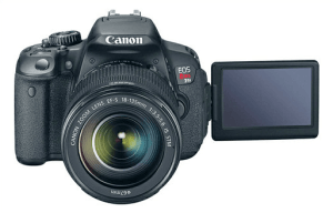 Canon EOS Rebel T4i Manual Novice-oriented Camera for Superb Video Recording.