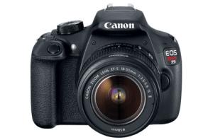 Canon EOS Rebel T5 Manual Standard Features Camera Manual,