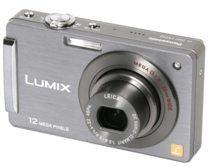 Control the Image Via Touch Screen by Panasonic Lumix DMC-FX550 Manual