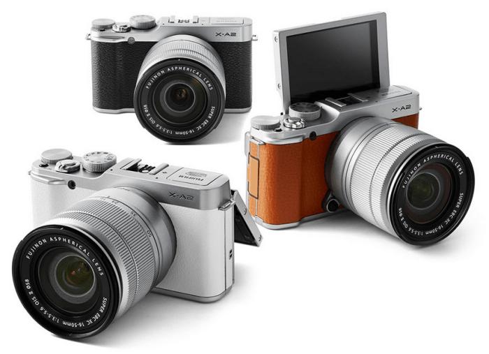 FUJIFILM X-A2 Manual, a Manual of Selfie Expert Camera