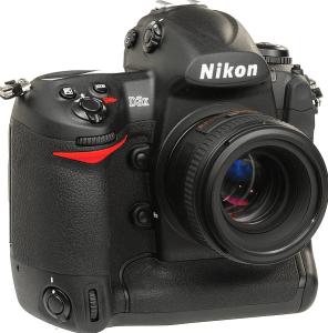 Nikon D3X Manual, Manual of Nikon's Economical Camera with Ergonomic Design