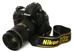 Nikon D3X Manual, Manual of Nikon's Economical Camera with Ergonomic Design