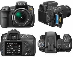 Sony DSLR-A200 Manual User Guide PDF