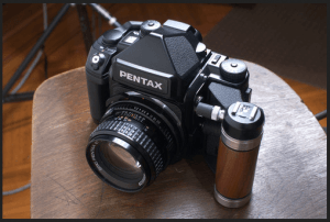 Pentax 67 II Manual, a Manual of Pentax Classic-Styled Camera