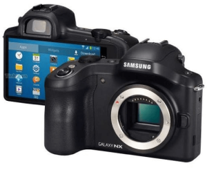 Samsung Galaxy NX Manual for Samsung's Premium Android-Based Mirroless Camera