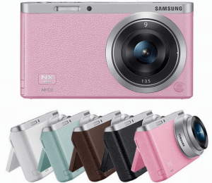 Samsung NX Mini Manual, a manual of Slimmest Samsung CSC Camera
