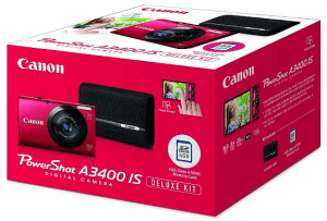 Canon PowerShot A3400IS Manual for Canon's Most Desirable Camera