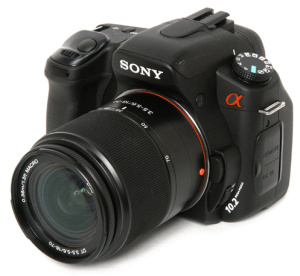 SONY A300 Manual, Manual for SONY's Steady Entry Level Camera