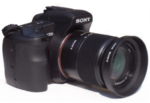 Sony A230 Manual for Sony Sophisticated DSLR Camera Device