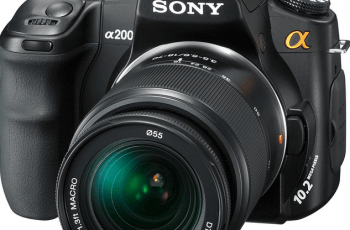 Sony A230 Manual for Sony Sophisticated DSLR Camera Device 1