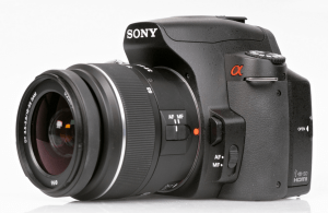 Sony Alpha A390 Manual for Sony Traditional-Designed Compact DSLR Camera