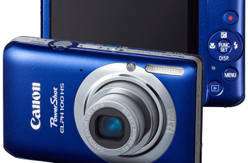 Canon PowerShot ELPH 100HS Manual User Guide and Specification