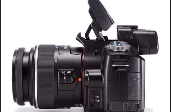 Sony SLT-A35K Manual for Sony's Leading SLT Camera 1
