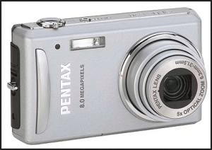 Pentax Optio V20 Manual for Pentax 8 Megapixel Digital Device