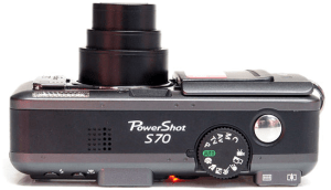 Canon PowerShot S70 Manual for Canon's Affordable Compact Camera with 7.1MP