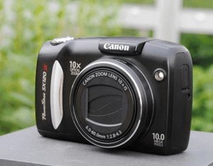 Canon PowerShot SX120 IS Manual User Guide and Specification