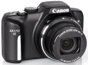 Canon PowerShot SX170 IS Manual for Canon's Stylish 16 MP Compact