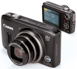 Canon PowerShot SX260 HS Manual for 20 MP Canon Responsive Compact