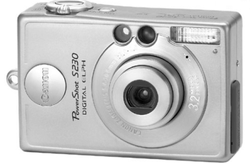 CANON POWERSHOT S230 Manual for Canon's Compact 2MP Digital Camera