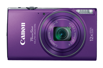 Canon PowerShot ELPH 360 HS Manual User Guide and Detail Specification