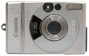 Canon PowerShot S300 Manual User Guide and Specification